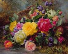 Розы на берегу пруда - Вильямс, Альберт