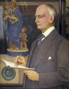 Портрет Уитворта Уоллиса (директора бирмингемского музея) - Саутолл, Джозеф Эдвард