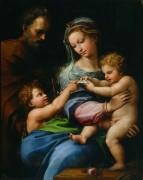 Святое Семейство с маленьким Иоанном Крестителем - Рафаэль, Санти