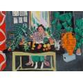 Комната с этрусской вазой - Матисс, Анри