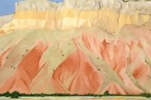 Красные и желтые скалы - О'Кифф, Джорджия