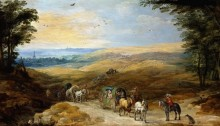 Панорамный пейзаж - Брейгель, Ян (Старший)