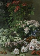 Весенние цветы - Моне, Клод