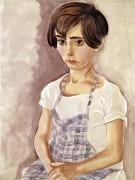 Портрет девочки - Грос, Георг