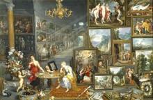 Аллегория зрение и обоняние, 1620 - Бреггель, Ян (Старший)