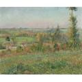 Холмы Тирасил, окраина Эрагни, 1884 - Писсарро, Камиль