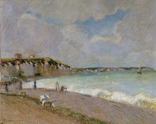 Пейзаж  на Ла-Манш, 1890 - Гийомен, Арманд