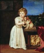 Кларисса Строцци в возрасте двух лет - Тициан Вечеллио
