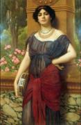 Женщина с тамбурином - Годвард, Джон Уильям