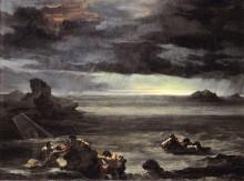 Всемирный потоп - Жерико, Теодор Жан Луи Андре