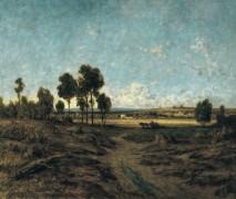 Пейзаж в монмартрской долине - Руссо, Теодор
