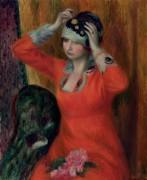Женщина в красном платье - Глакенс, Уильям