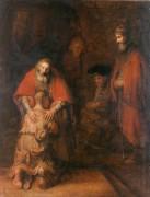 Возвращение блудного сына - Рембрандт, Харменс ван Рейн