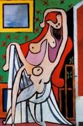 Обнаженная в кресле, 1929 - Пикассо, Пабло