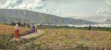 Пейзаж с горами, 1904 -  Северини, Джино