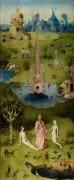 Сад земных наслаждений, левая створка - Райский сад - Босх, Иероним (Ерун Антонисон ван Акен)