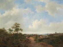 Голландский панорамный пейзаж - Круземан, Фредерик Маринус