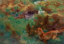 Лиса, преследующая диких уток - Лильефорс, Бруно