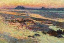 Скалы на берегу моря - Мартен, Анри Жан Гийом