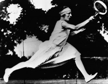 Сюзанн Ленглен,  победитель Уимблдона и Олимпийских игр