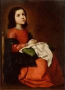 Детство Девы Марии - Сурбаран, Франциско де