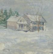Brush House, Cos Cob - Твочтман, Джон Генри