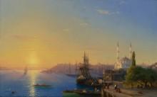 Вид на Константинополь и Босфор - Айвазовский, Иван Константинович