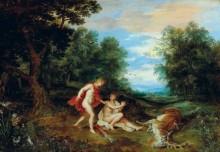 Аполлон утешает Кипариса - Брейгель, Ян (младший)