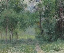 Лесной пейзаж - Луазо, Гюстав