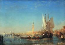 Венецианская лагуна и Дворец дожей, Венеция -  Зим, Феликс