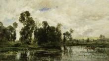 На берегах реки - Добиньи, Шарль-Франсуа