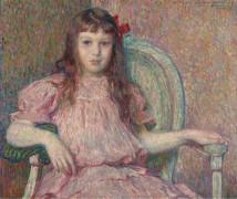 Портрет Сильвии Лакомб (Portrait of Sylvie Lacomb), 1906 - Рейссельберге, Тео ван