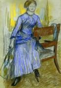 Элен Руар (г-жа Марино), 1886 - Дега, Эдгар