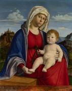 Мадонна и дитя (1) - Конельяно, Чима да