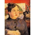 Мадам Александра Колер, 1889 - Гоген, Поль