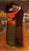 Любовники на улице, 1900 - Пикассо, Пабло
