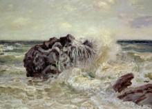 Волны в Лангленд Бэй - Сислей, Альфред
