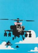 Счастливые вертолеты - Бэнкси