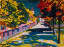 Осень в Баварии - Кандинский, Василий Васильевич