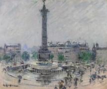 Площадь Бастилии - Луазо, Гюстав