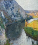 Речная долина близ Сен-Сирк-Лапопи - Мартен, Анри Жан Гийом