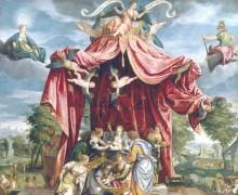 Аллегория рождения сына Филиппа, 1575 - Паррацио, Микели