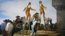 На ходулях - Гойя, Франсиско Хосе де
