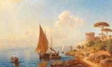 Рыбаки на берегу Далмации - Зелос, Готфрид