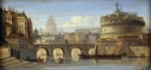 Мост Святого Ангела, Рим - Зиген, Август фон