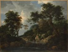 Лесной ручей - Рейсдал, Якоб Исаак