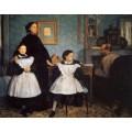 Семья Беллелли, 1860 - Дега, Эдгар