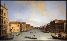 Вид на Гранд канал - Каналетто (Джованни Антонио Каналь)