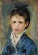 Мадмуазель Марта Ле Кёр, 1873 - Ренуар, Пьер Огюст