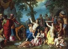 Собирание манны - Брейгель, Ян (Старший)